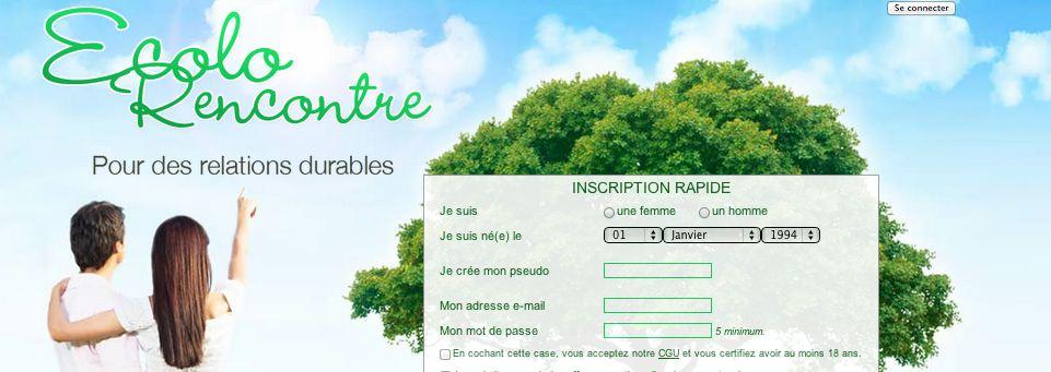 Site de rencontre Ecolorencontre.com