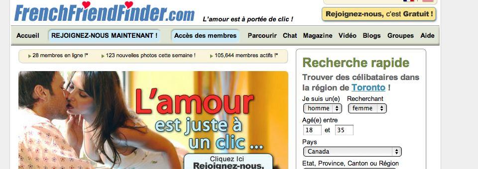 Site de rencontre frenchfriendfinder