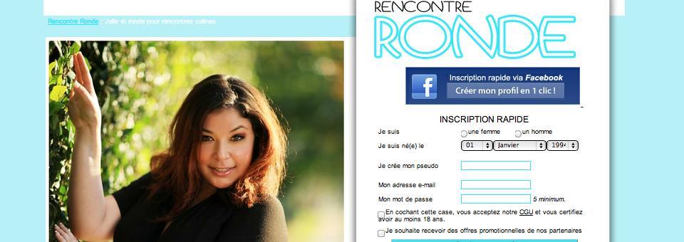 Site de rencontre Rencontre-ronde.fr