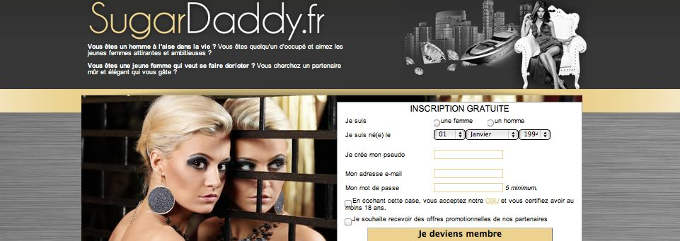 Site de rencontre sugardaddy
