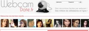 Site de rencontre webcamdate
