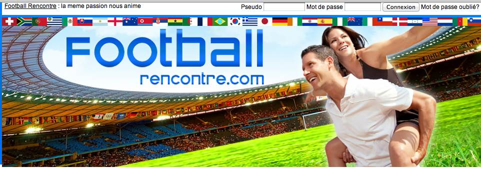 site de rencontre football