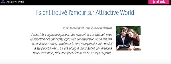 inscription gratuite attractive world